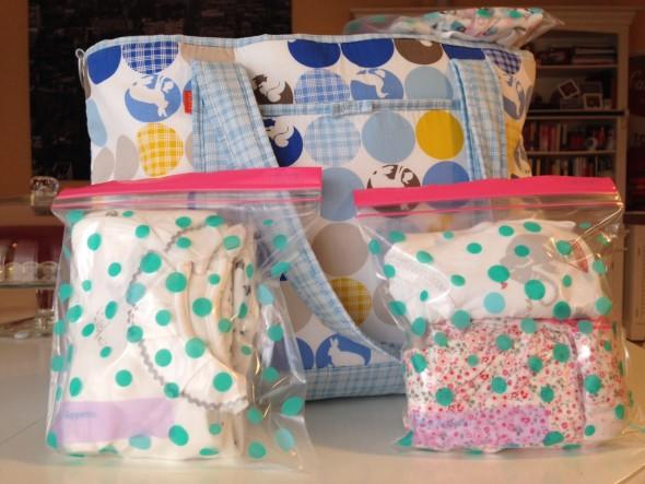 La borsa per il parto il necessario per il beb mammaholic - Lista di cose da portare in ospedale per il parto ...
