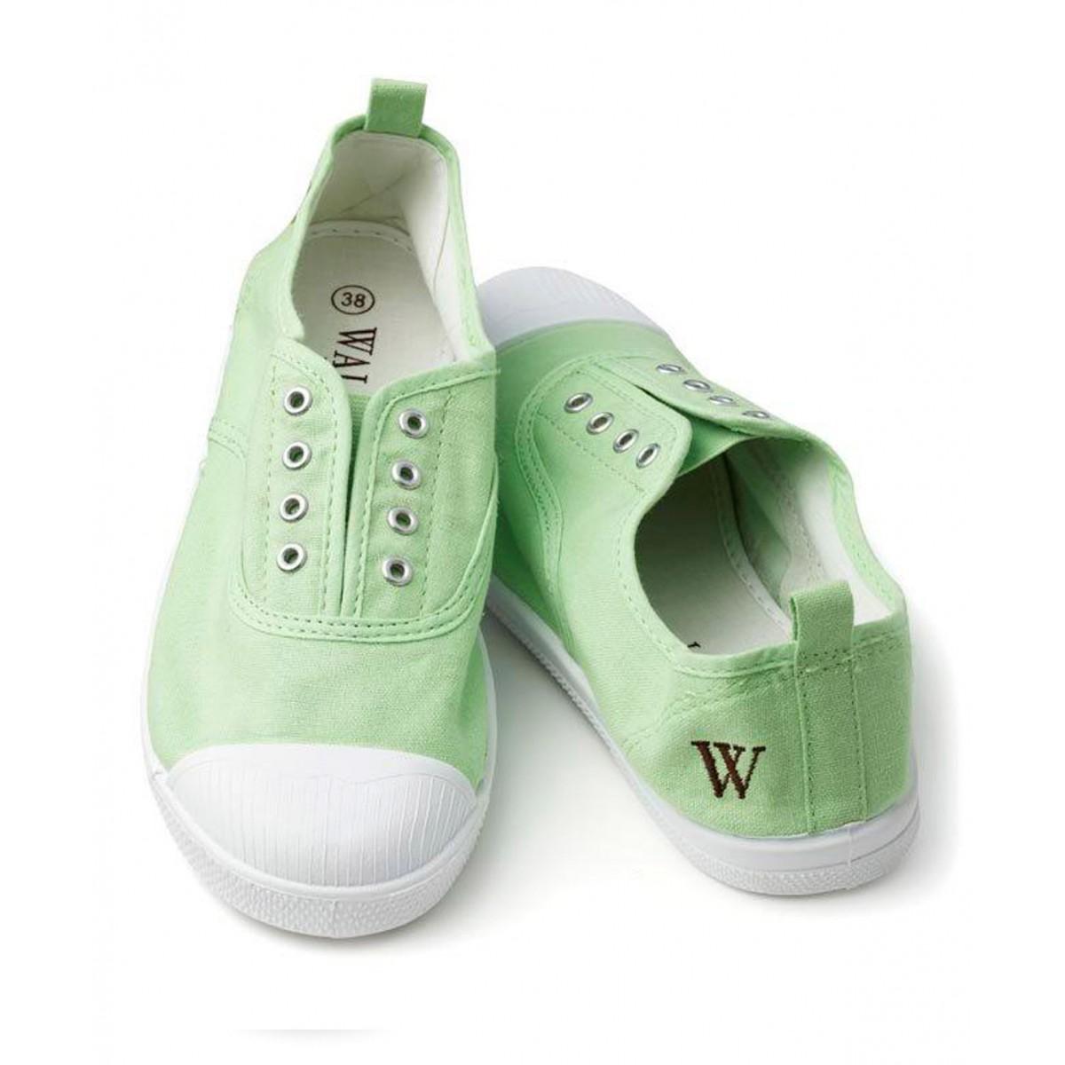 Walnut scarpe tela