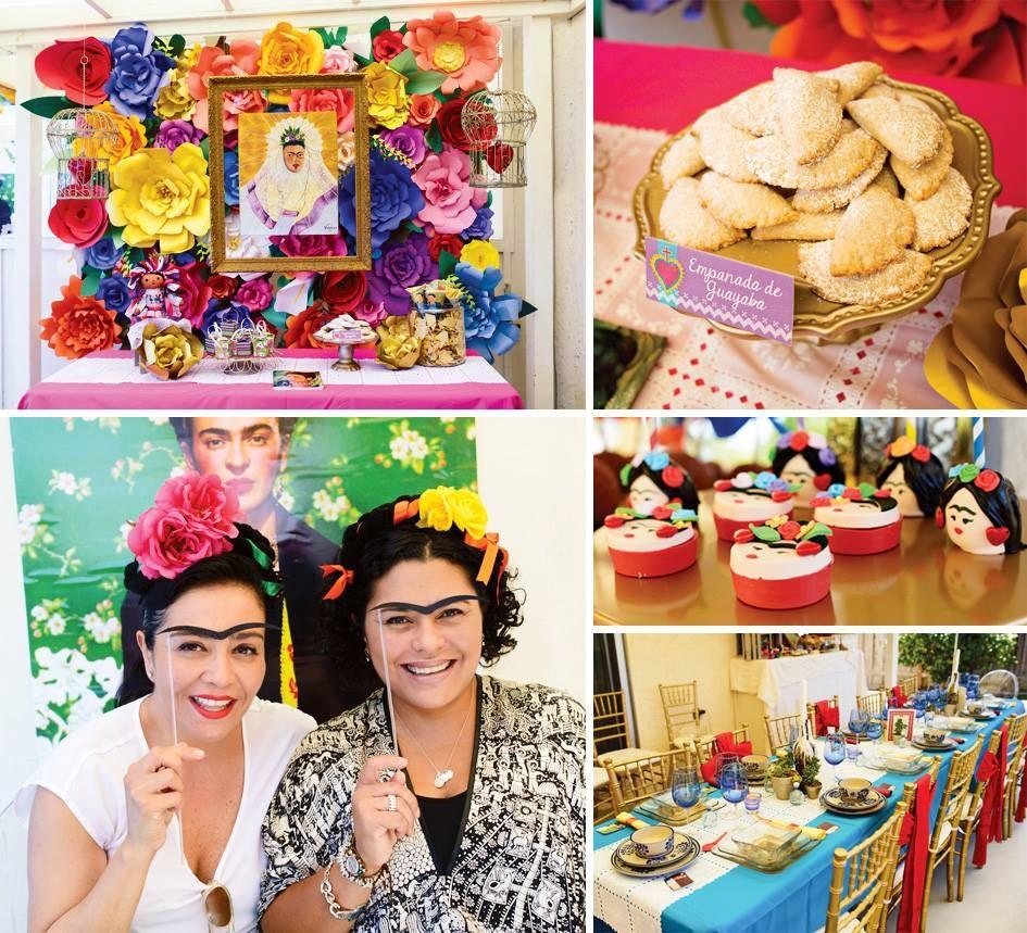 Matrimonio Tema Frida Kahlo : Festa di compleanno a tema frida kahlo