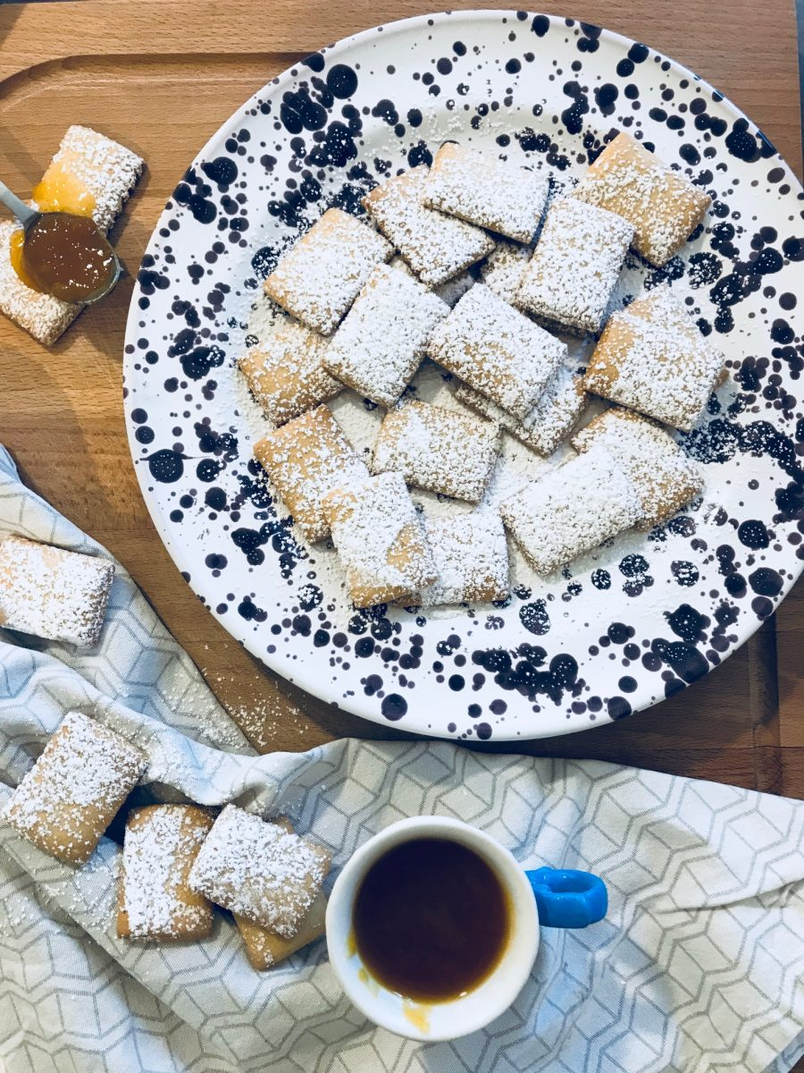 biscotti all'olio di oliva e limone