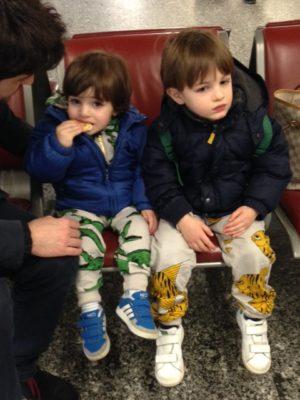 Bambini in viaggio in Mini Rodini