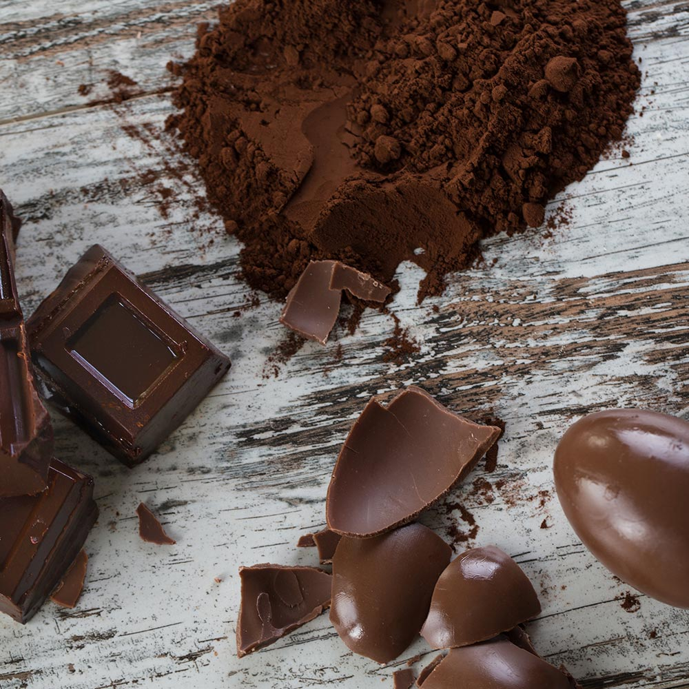 Uova al cioccolato Dolci Preziosi