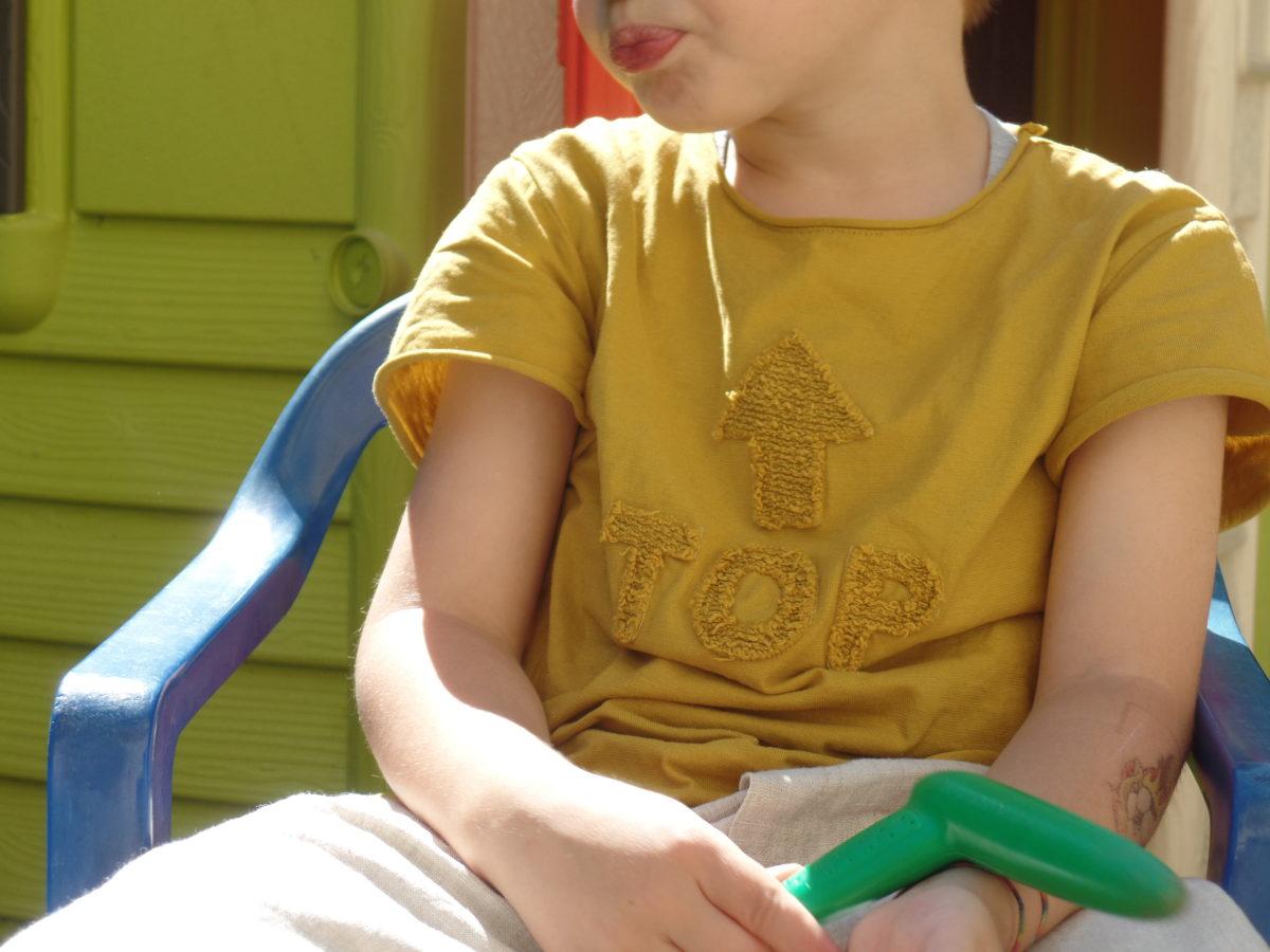 Giallo abbigliamento bambini