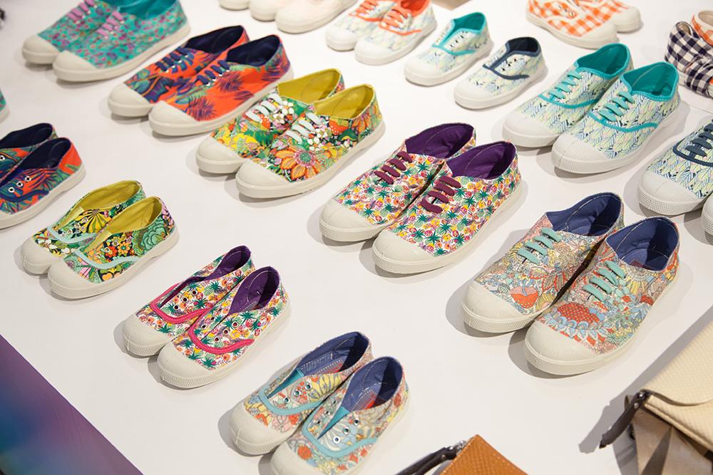 Bensimon scarpe tela