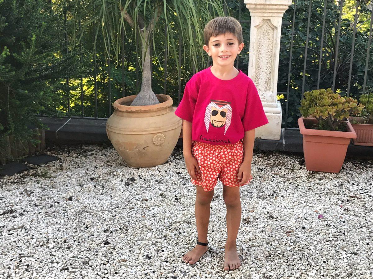 Sceicco BOB Francisrich Abbigliamento