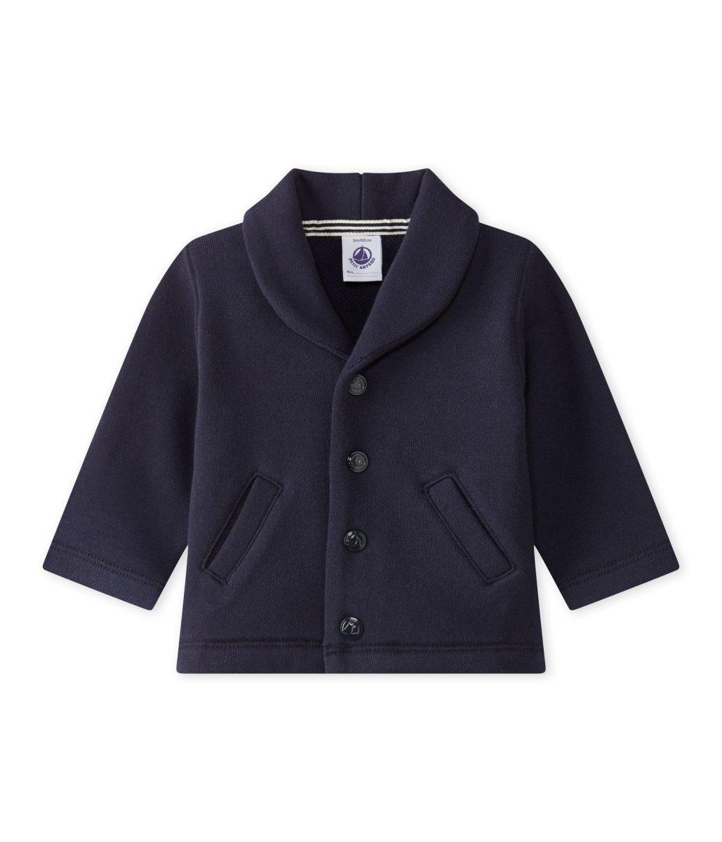 giacca blu Petit Bateau
