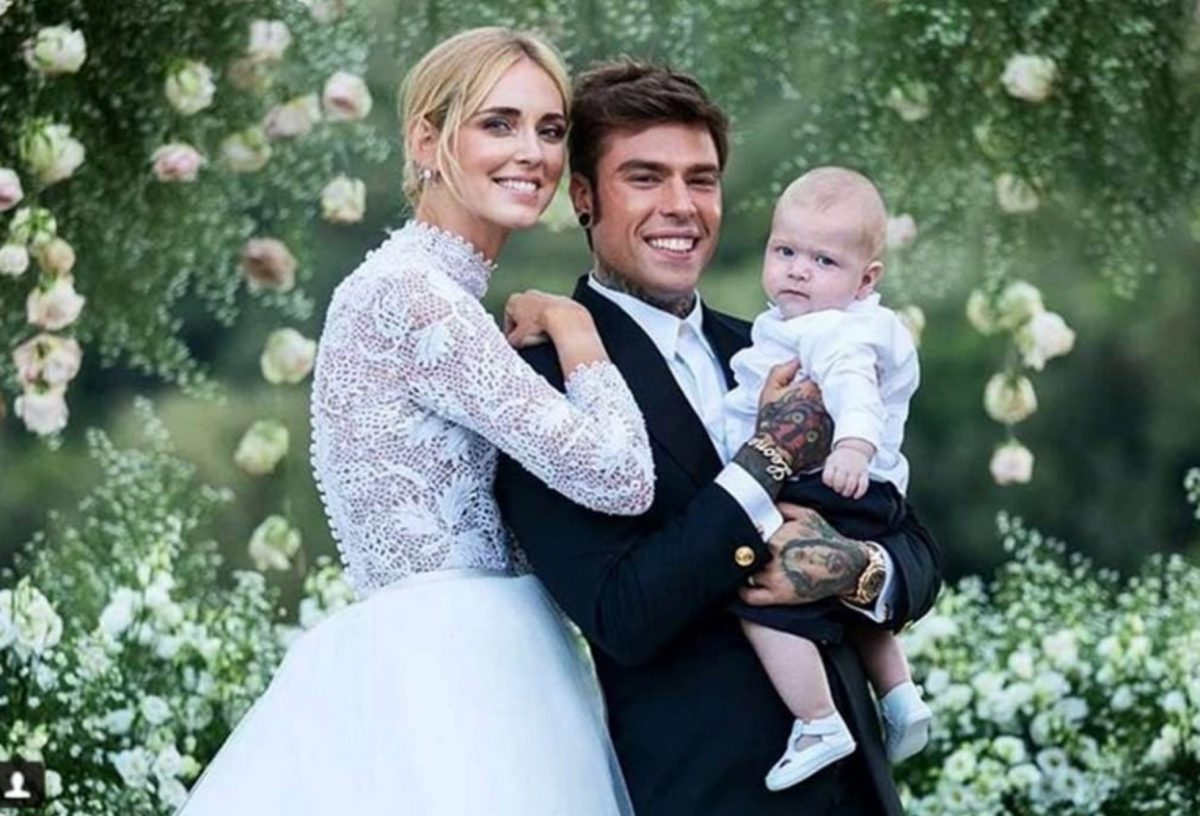 look matrimonio Leone Lucia Ferragni