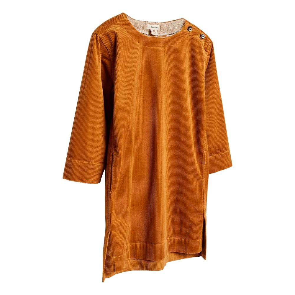 Vestito Velluto a coste Terra di Siena Bellerose