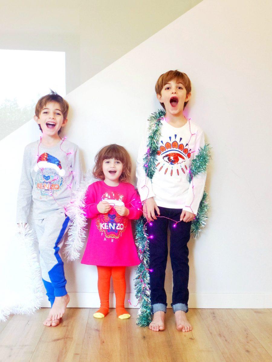 Vestiti per bambini jeans Kenzo Kids