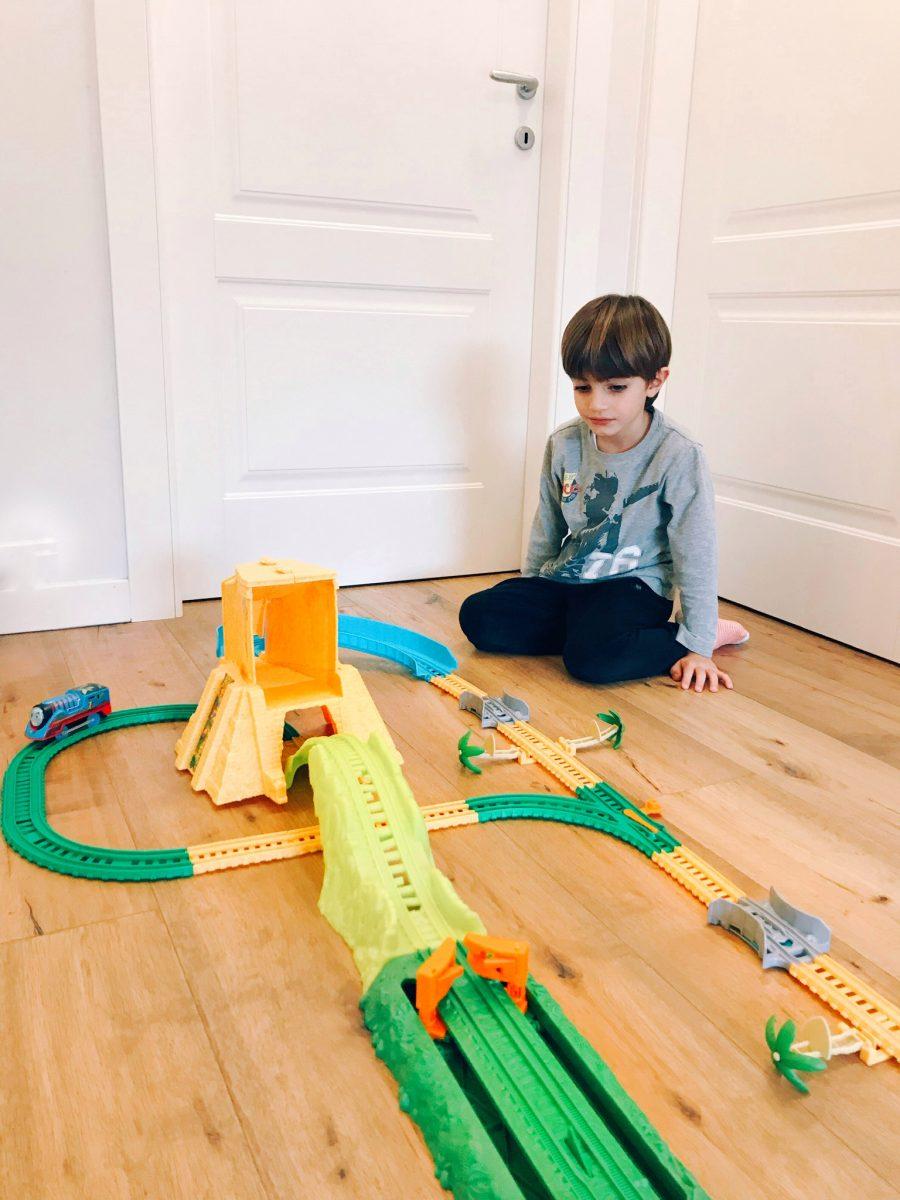 Trenino Thomas regali di Natale