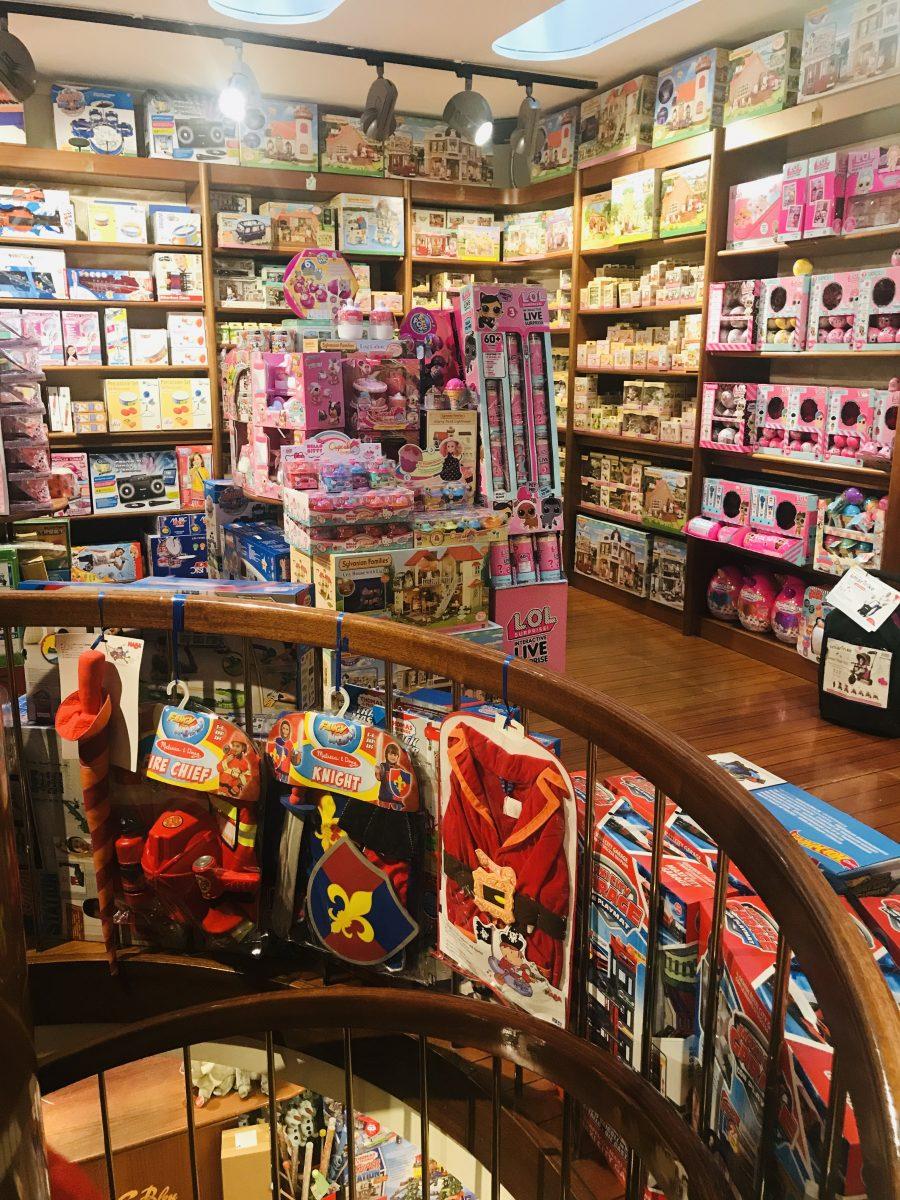 Nano Bleu negozio giocattoli Milano