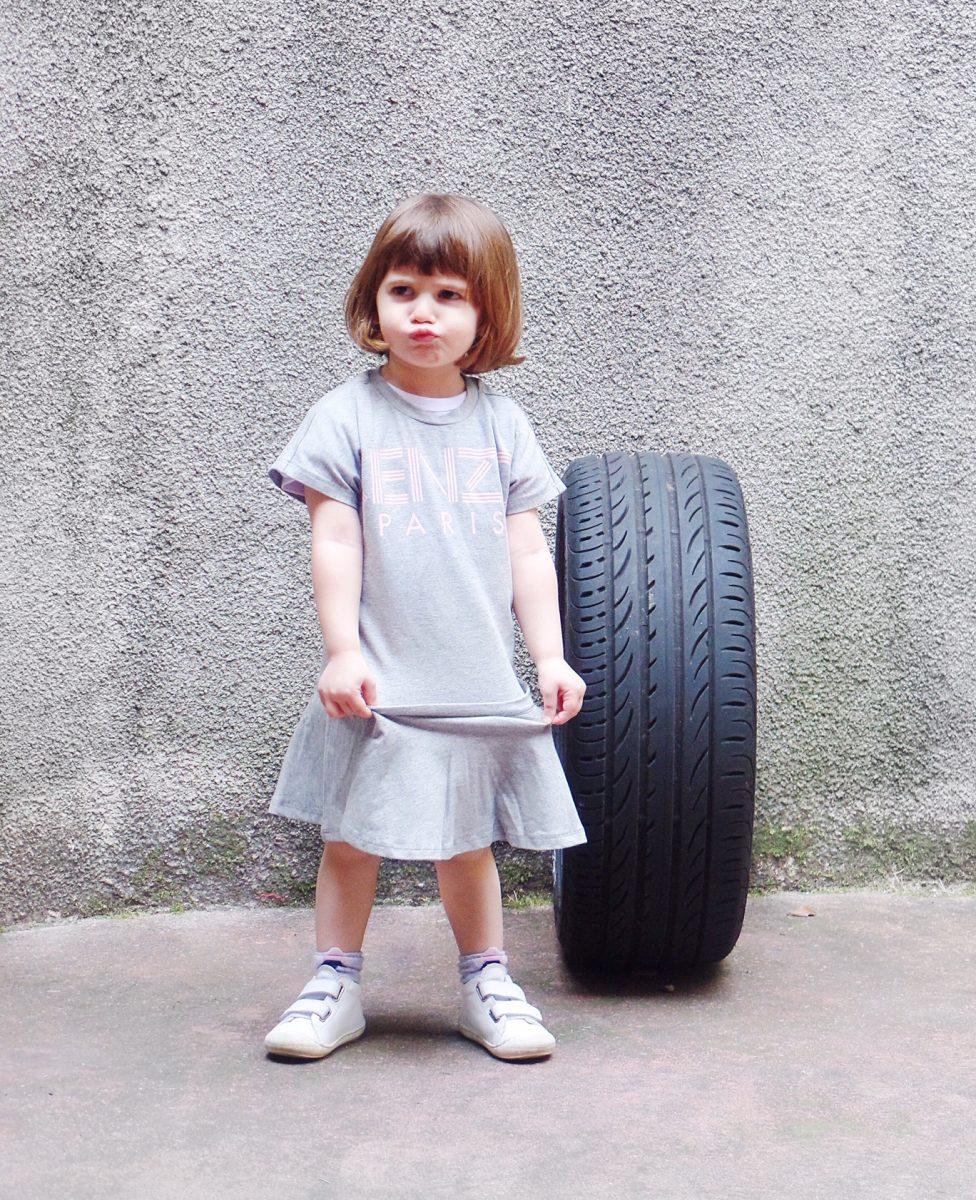 vestiti per bambini abito Kenzo Kids
