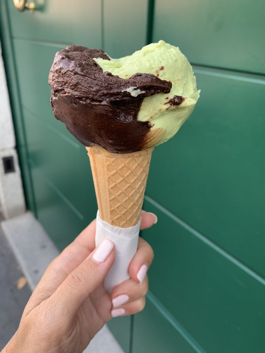 Gelato all'avocado