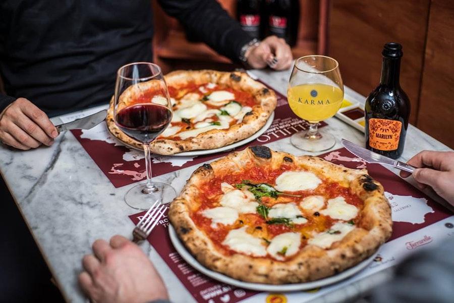 Migliore pizzeria napoletana Londra